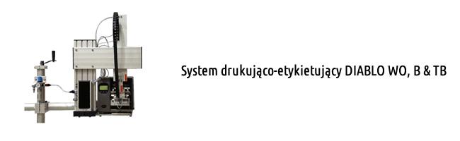 System drukująco-etykietujący DIABLO WO, B & TB